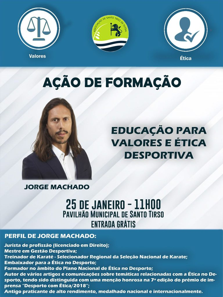 AST promove Ação de Formação sobre Ética Desportiva « Jornal